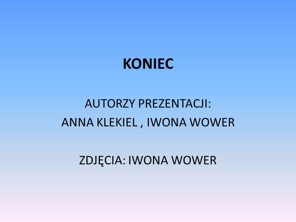 ANNA KLEKIEL , IWONA WOWER