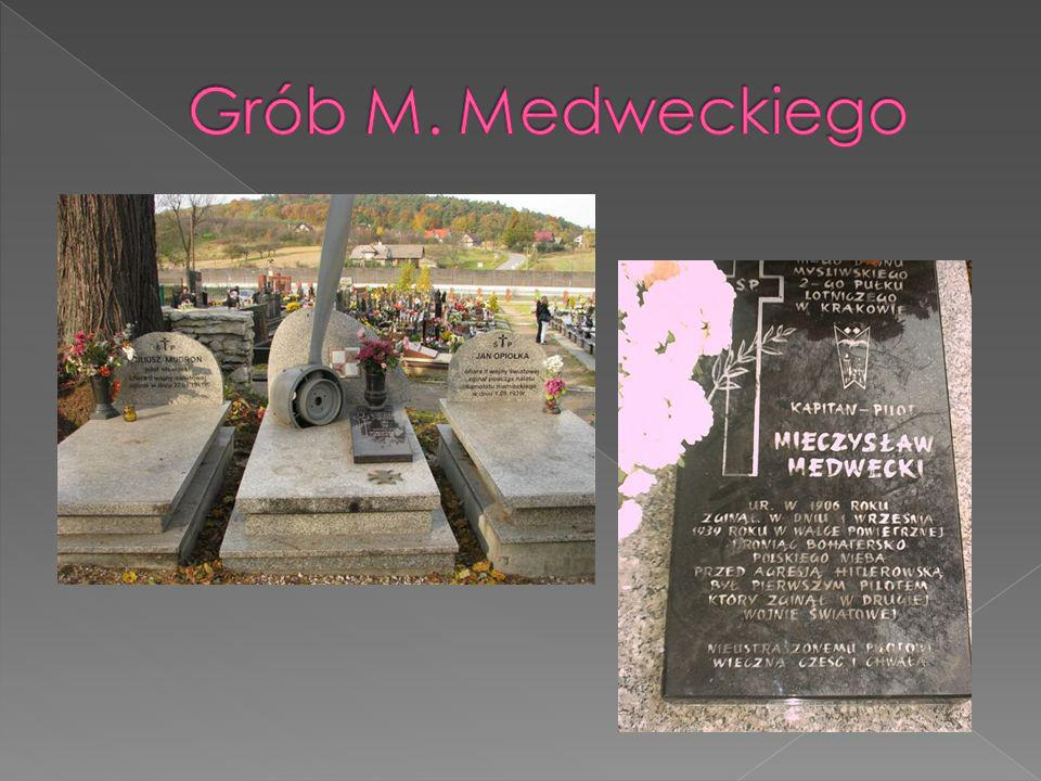 Grób M. Medweckiego