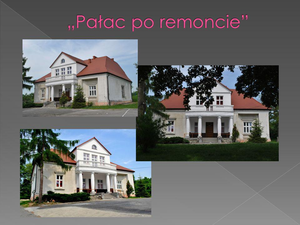 """Pałac po remoncie"