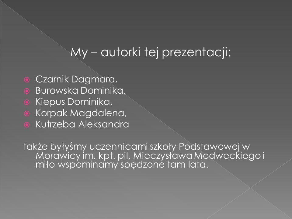 My – autorki tej prezentacji:
