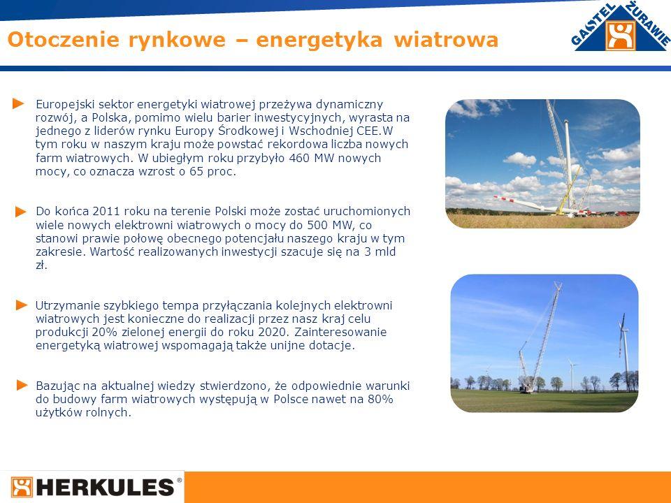 Otoczenie rynkowe – energetyka wiatrowa
