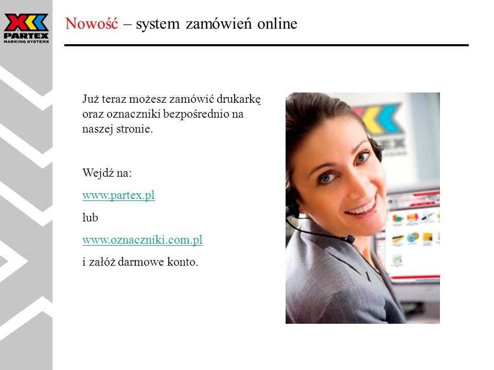 Nowość – system zamówień online