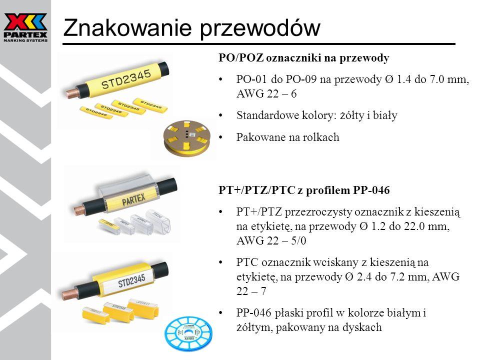 Znakowanie przewodów PO/POZ oznaczniki na przewody