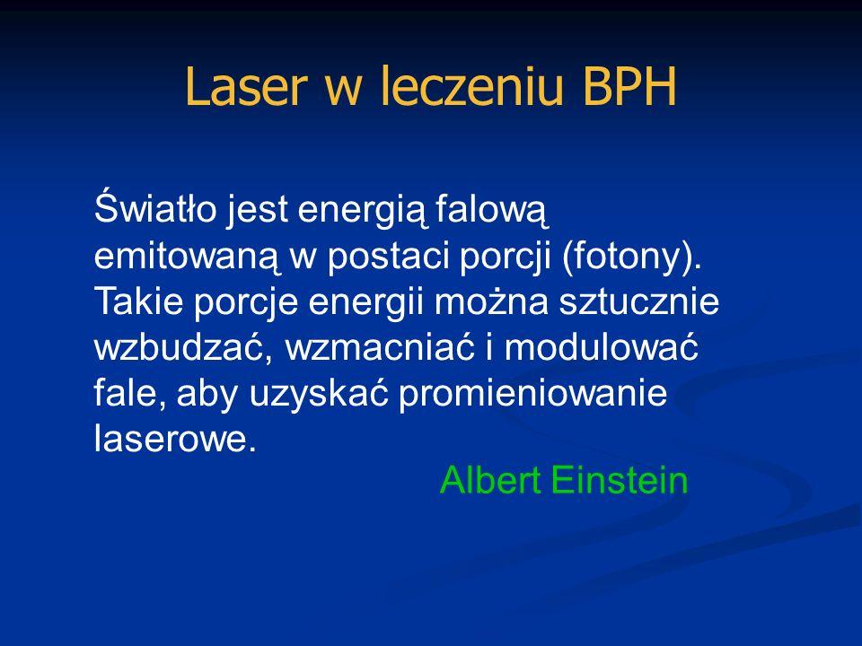 Laser w leczeniu BPH