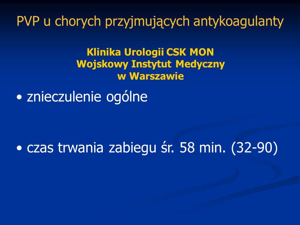 Klinika Urologii CSK MON Wojskowy Instytut Medyczny