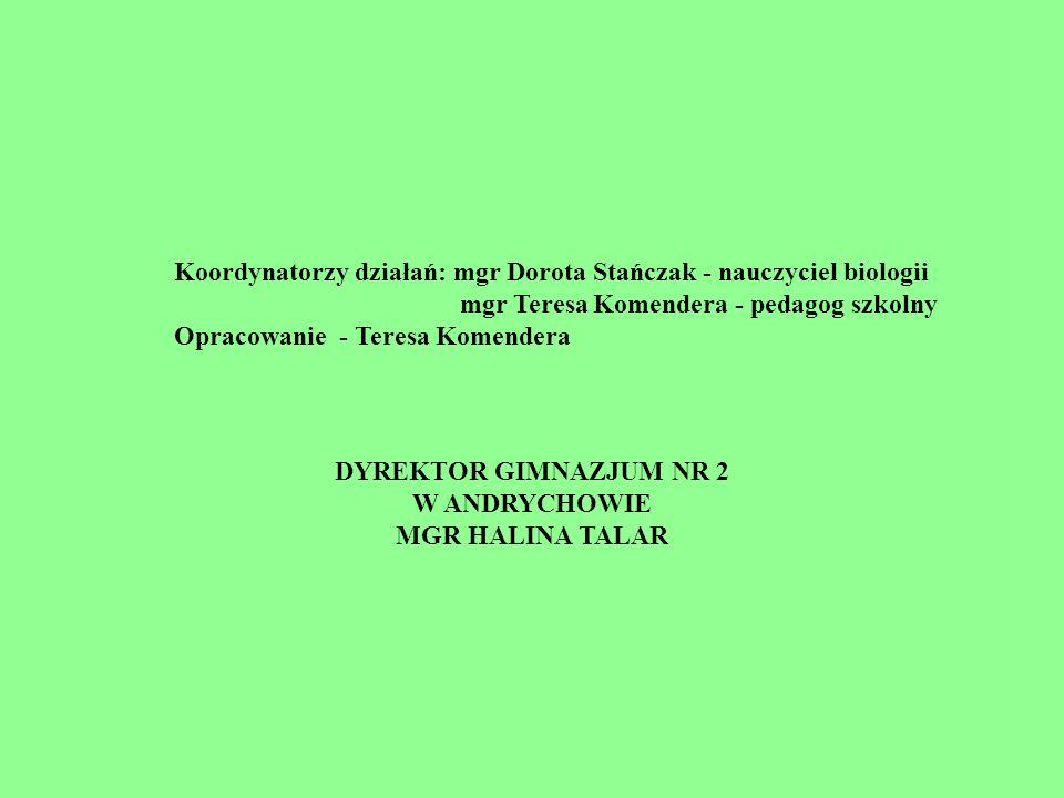 DYREKTOR GIMNAZJUM NR 2 W ANDRYCHOWIE