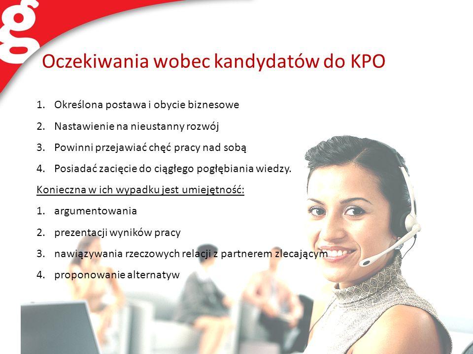 Oczekiwania wobec kandydatów do KPO