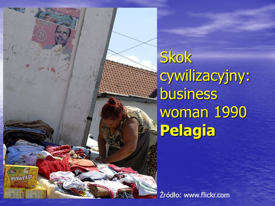 Skok cywilizacyjny: business woman 1990 Pelagia