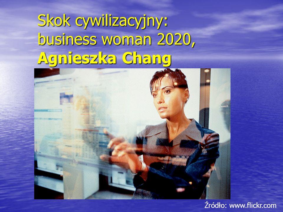 Skok cywilizacyjny: business woman 2020, Agnieszka Chang