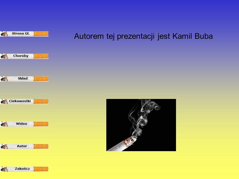 Autorem tej prezentacji jest Kamil Buba