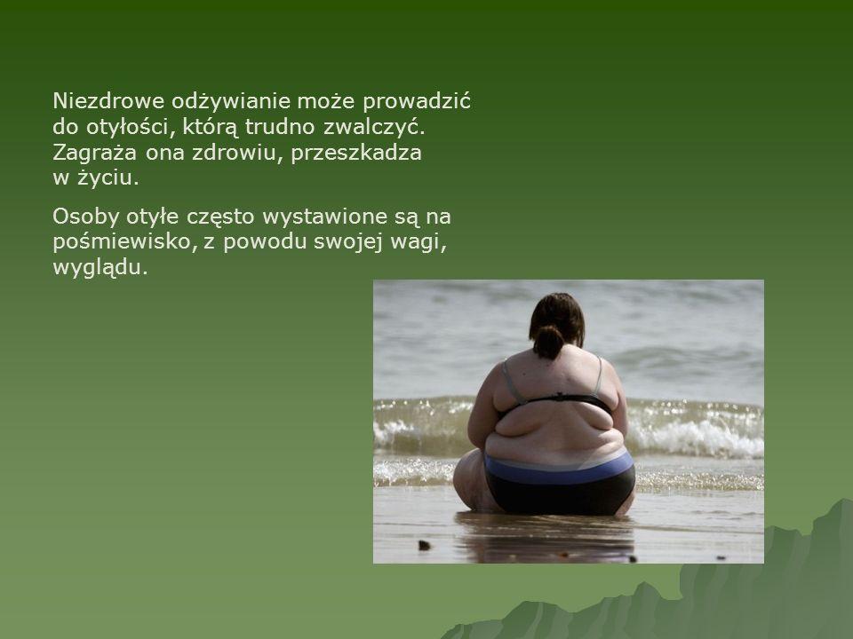 Niezdrowe odżywianie może prowadzić do otyłości, którą trudno zwalczyć