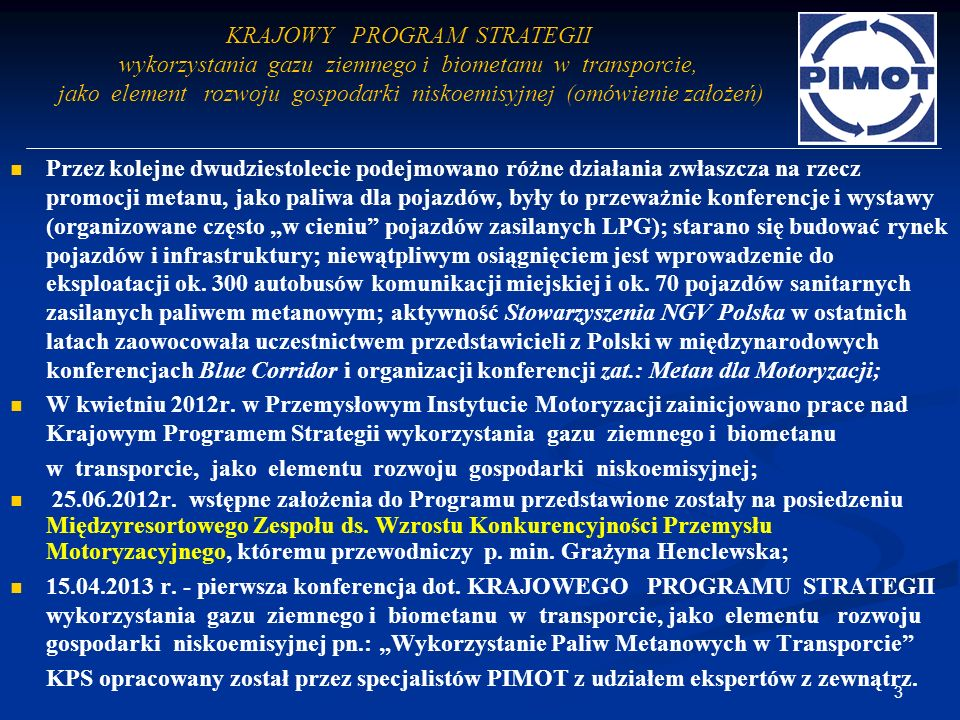 KRAJOWY PROGRAM STRATEGII