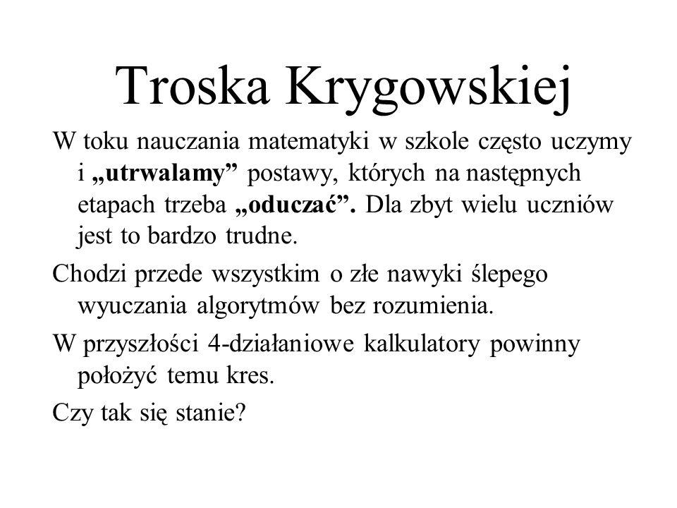 Troska Krygowskiej