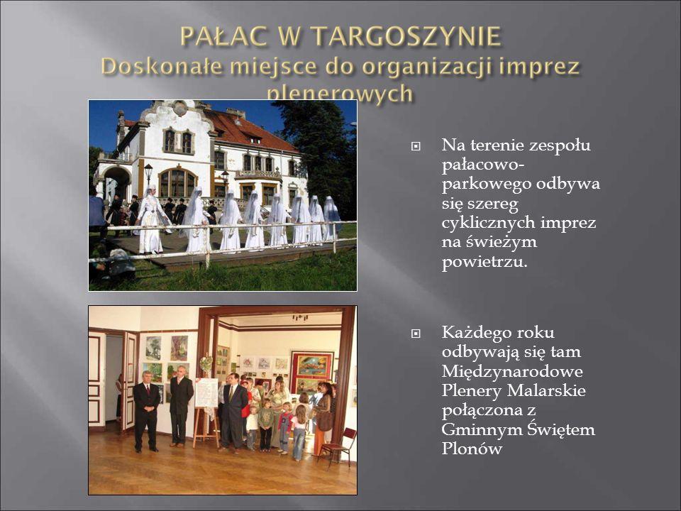 Na terenie zespołu pałacowo-parkowego odbywa się szereg cyklicznych imprez na świeżym powietrzu.