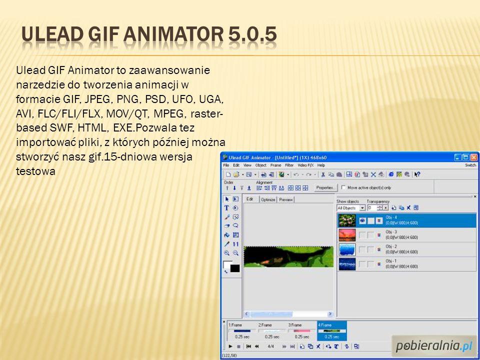 Ulead Gif Animator 5.0.5