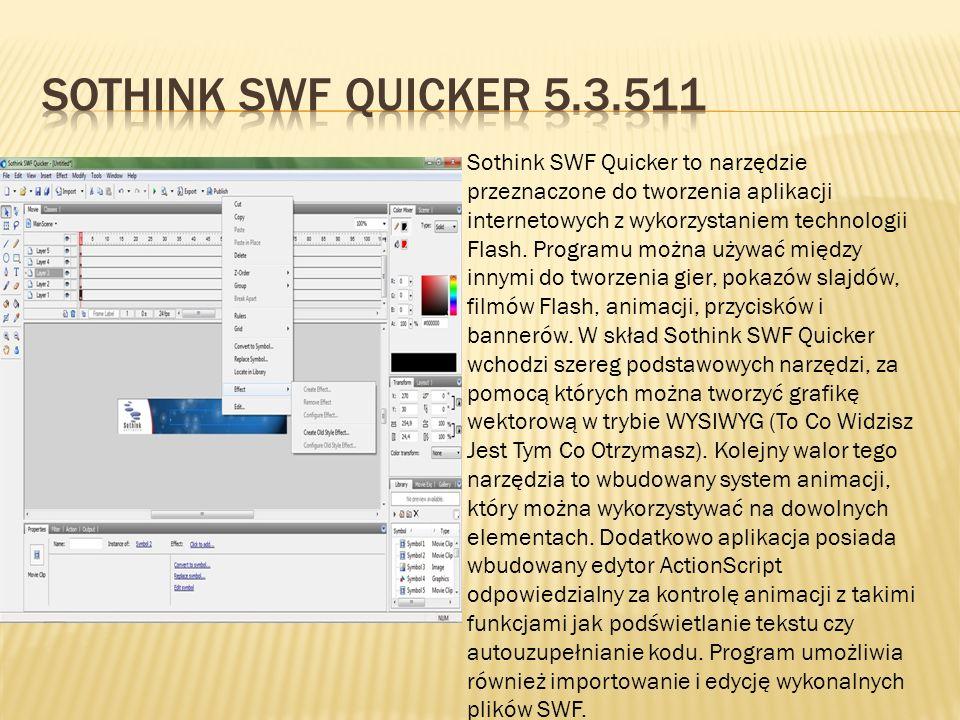 Sothink SWF Quicker 5.3.511
