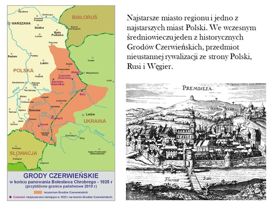 Najstarsze miasto regionu i jedno z najstarszych miast Polski
