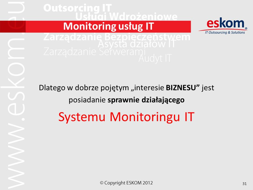 Systemu Monitoringu IT