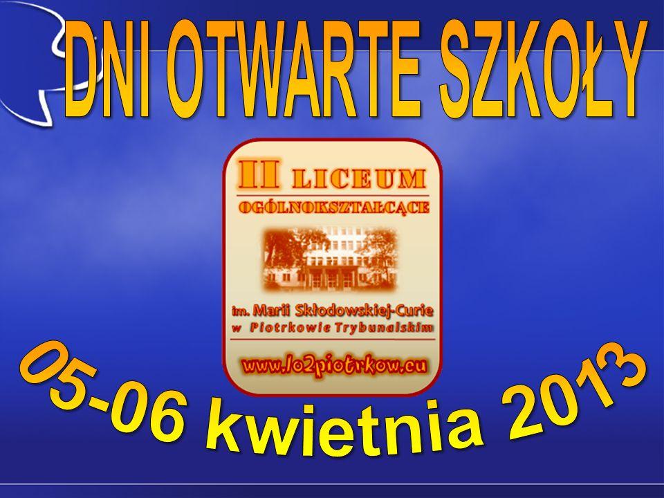 DNI OTWARTE SZKOŁY 05-06 kwietnia 2013