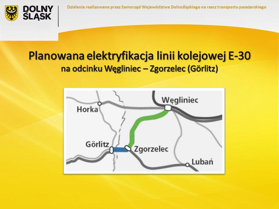 Działania realizowane przez Samorząd Województwa Dolnośląskiego na rzecz transportu pasażerskiego