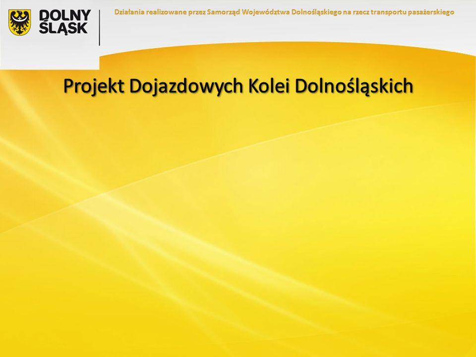 Projekt Dojazdowych Kolei Dolnośląskich