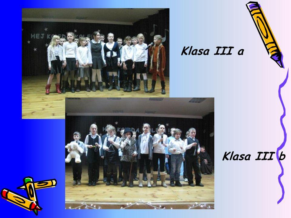 Klasa III a Klasa III b