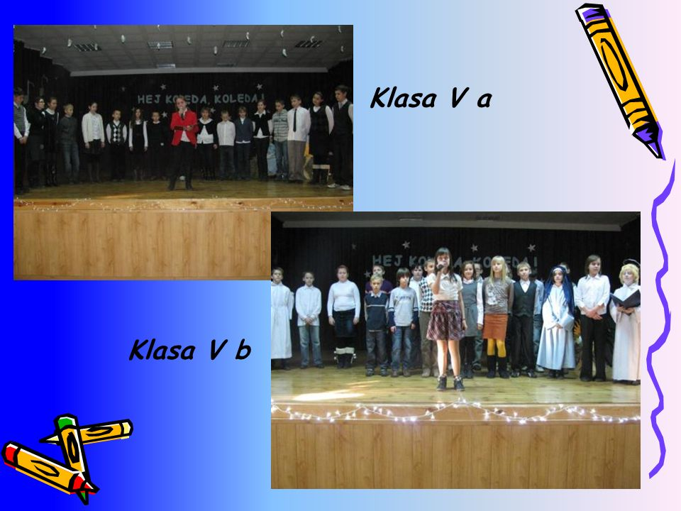 Klasa V a Klasa V b