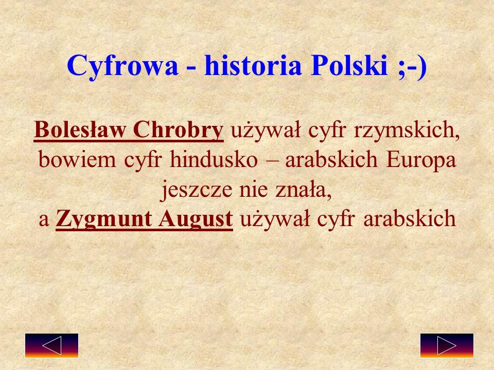 Cyfrowa - historia Polski ;-)