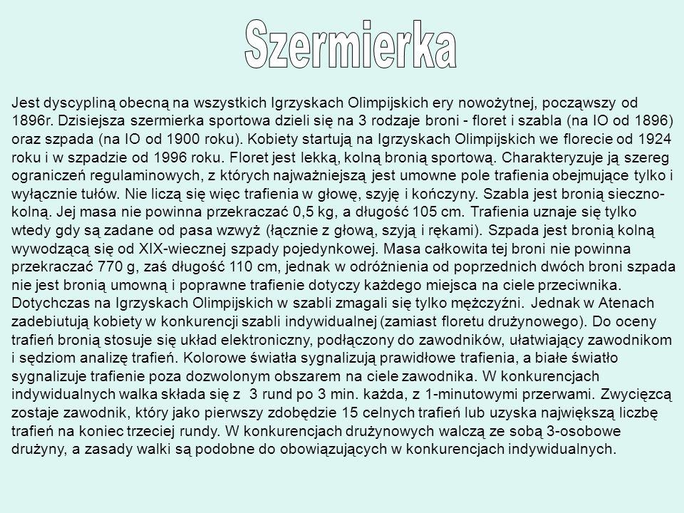 Szermierka