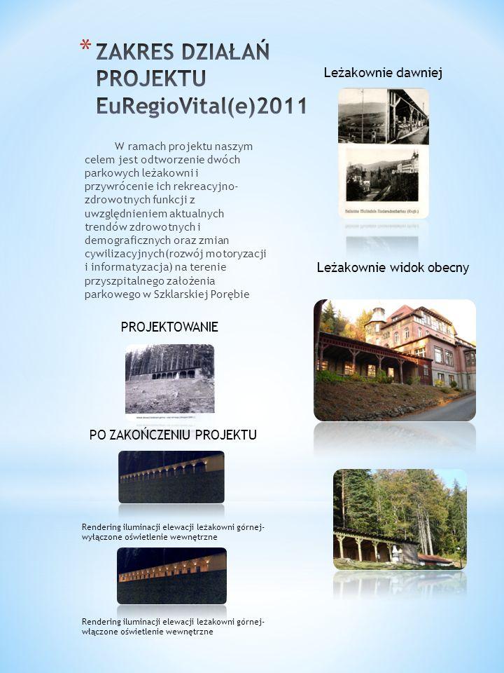ZAKRES DZIAŁAŃ PROJEKTU EuRegioVital(e)2011