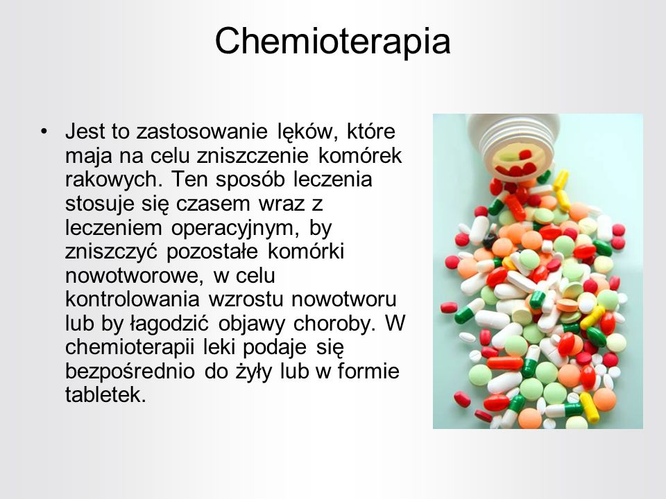Chemioterapia