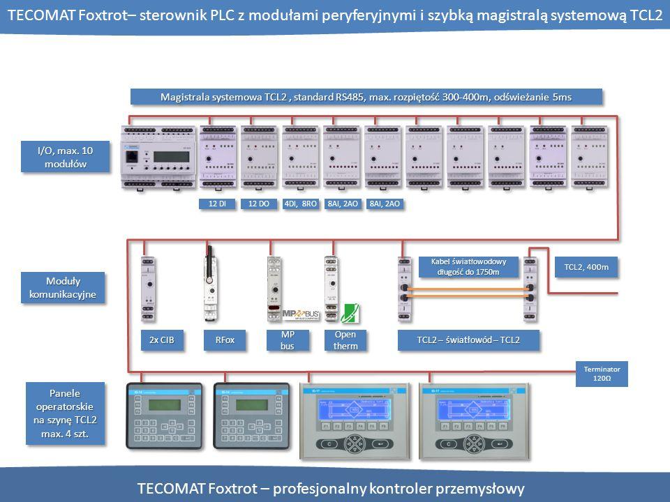 TECOMAT Foxtrot – profesjonalny kontroler przemysłowy