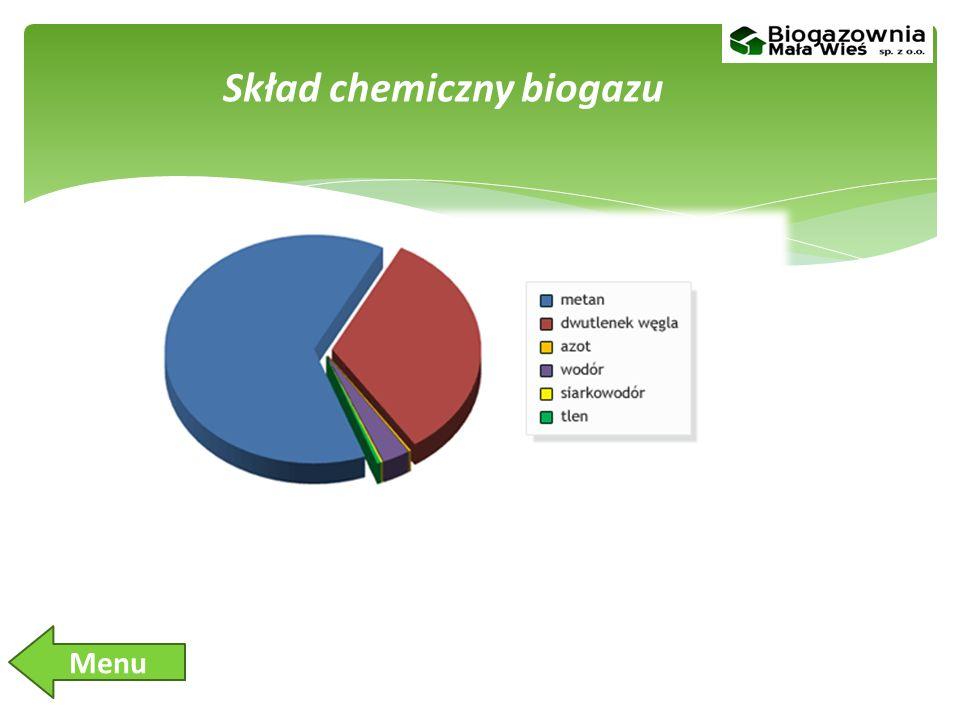 Skład chemiczny biogazu