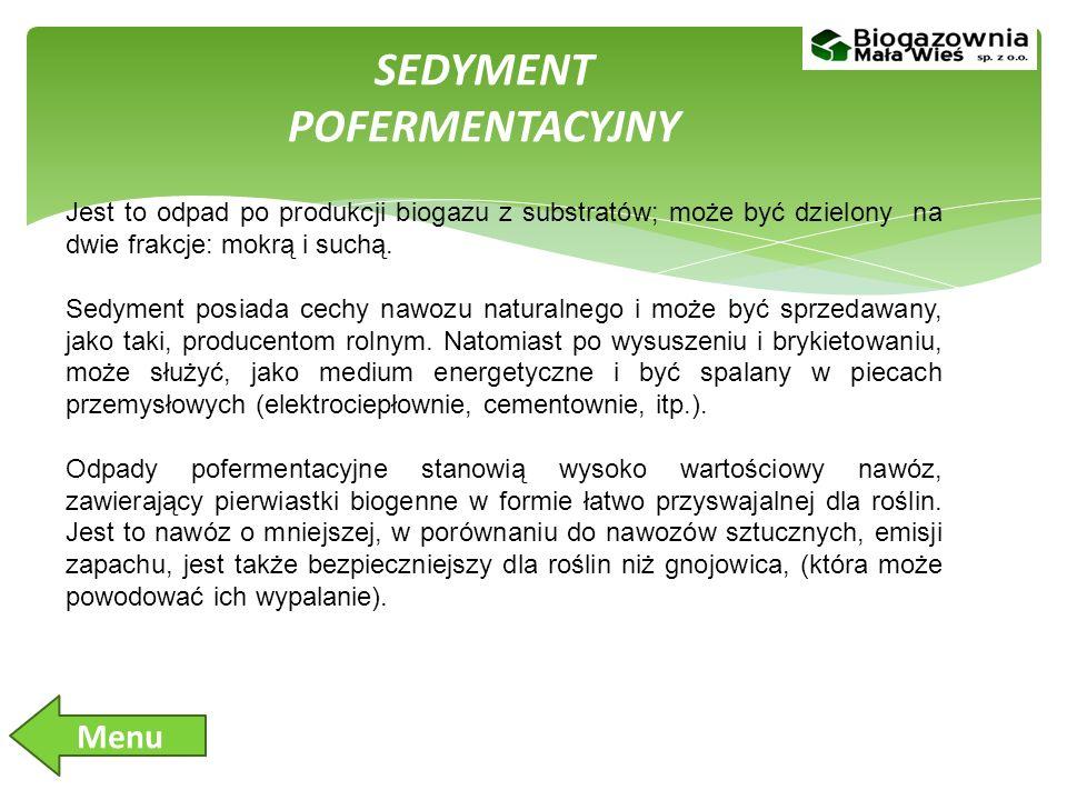 SEDYMENT POFERMENTACYJNY