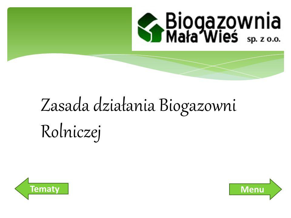 Zasada działania Biogazowni Rolniczej