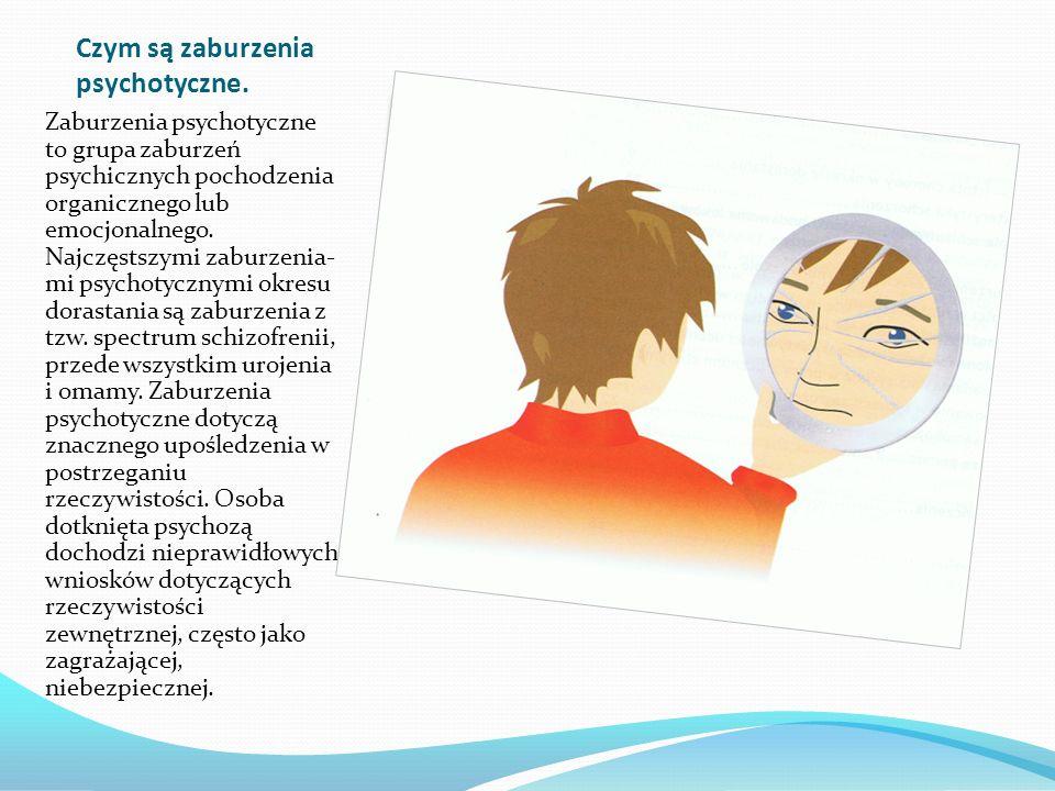 Czym są zaburzenia psychotyczne.