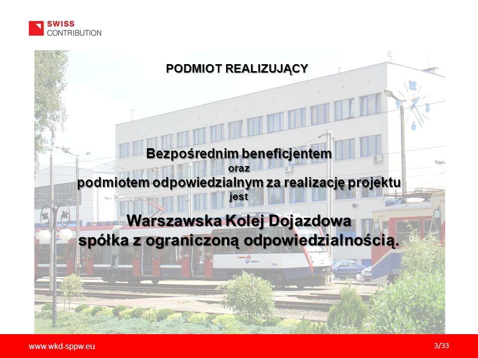 Warszawska Kolej Dojazdowa spółka z ograniczoną odpowiedzialnością.