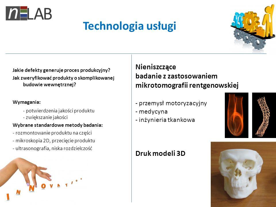 Technologia usługi Nieniszczące badanie z zastosowaniem mikrotomografii rentgenowskiej. przemysł motoryzacyjny.