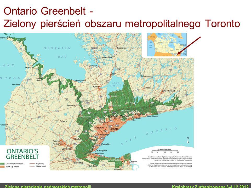 Ontario Greenbelt - Zielony pierścień obszaru metropolitalnego Toronto