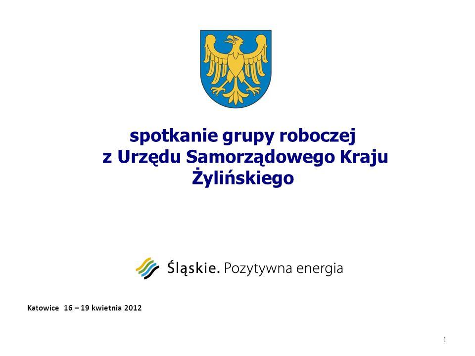 spotkanie grupy roboczej z Urzędu Samorządowego Kraju Żylińskiego