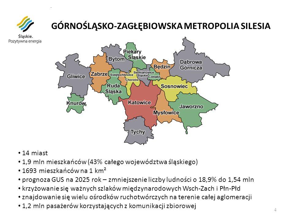 GÓRNOŚLĄSKO-ZAGŁĘBIOWSKA METROPOLIA SILESIA