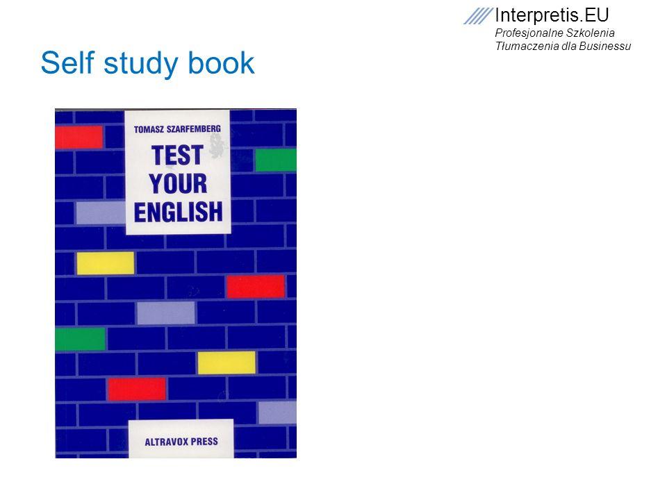 Self study book