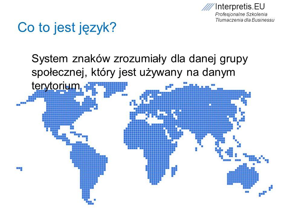 Co to jest język.
