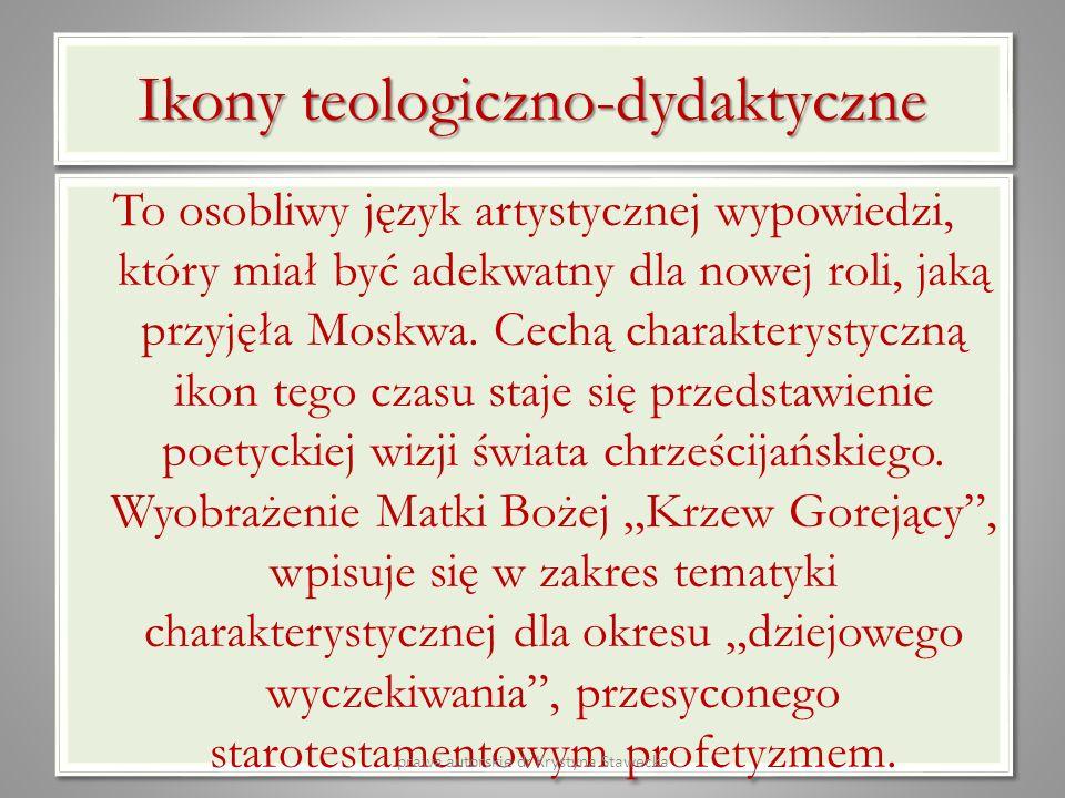 Ikony teologiczno-dydaktyczne