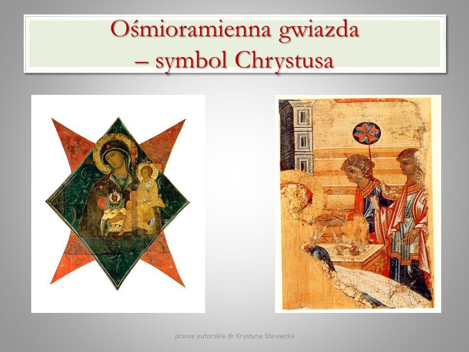 Ośmioramienna gwiazda – symbol Chrystusa