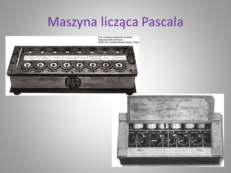 Maszyna licząca Pascala