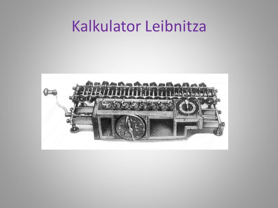 Kalkulator Leibnitza