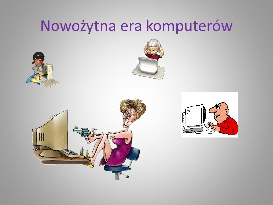 Nowożytna era komputerów