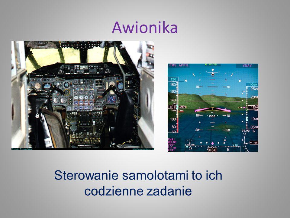 Sterowanie samolotami to ich codzienne zadanie