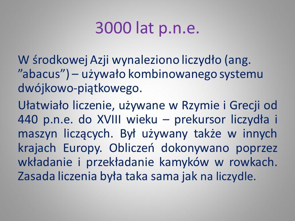 3000 lat p.n.e.